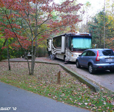 NF Campground Review – Lake Powhatan, Pisgah Forest (Asheville, NC)