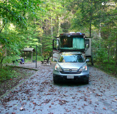 NF Campground Rating – Rock Creek, Cherokee Forest (Erwin, TN)