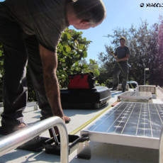 RV Solar Part III – The Installation