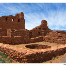 900 Years of History in Sandstone – The Salinas Pueblos, NM