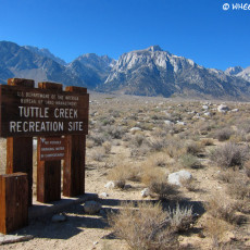 BLM Campground Review – Tuttle Creek, Lone Pine, CA