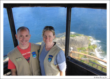 Our job at Coquille River Lighthouse was for couples only