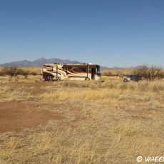 Boondocking Site Review – Las Cienegas National Conservation Area, Sonoita, AZ