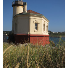 "Back ""On The Job"" -> Lighthouse Hosting At Coquille River Lighthouse, OR"