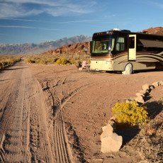 Boondocking Site Review – Volcanic Tablelands BLM, Bishop, CA