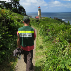 "On the ""Job"" At North Head Lighthouse – Cape Disappointment, WA"