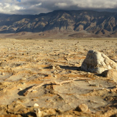 Walking Into The Emptiness – Clark Dry Lake Bed, Borrego Springs, CA