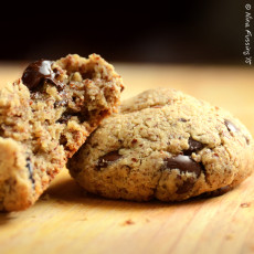 Tasty RV Eats -> Gluten-Free Chocolate Chip Cookies