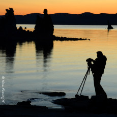 Morning Photo Shoots At Magnificent Mono Lake, CA