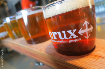 Mmmmmm....Crux beer....drool