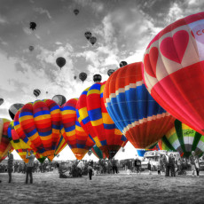 ABQ Balloon Fiesta I -> First Impressions