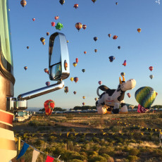 ABQ Balloon Fiesta II -> Tips On RV Camping & Attending The Event