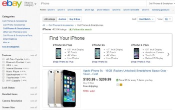 eBay is awesome for used iPhones