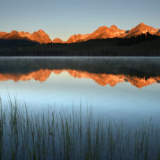 Sunrise Magic In The Sawtooth Mountains, Stanley ID