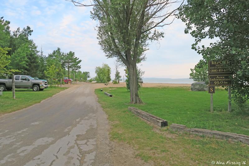 Rv Park Review Mill Creek Campground Mackinaw City Mi