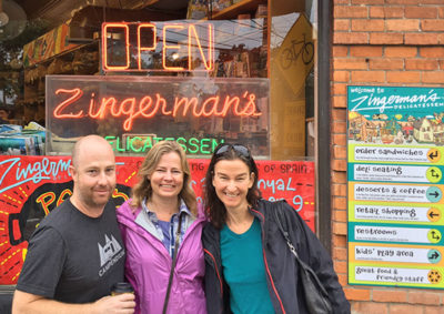 Breakfast date w/ Leigh & Brian at Zingermans