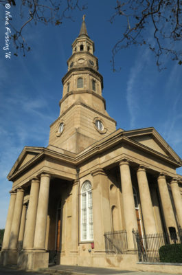 There are over 400 churches in town (this is St. Philips)