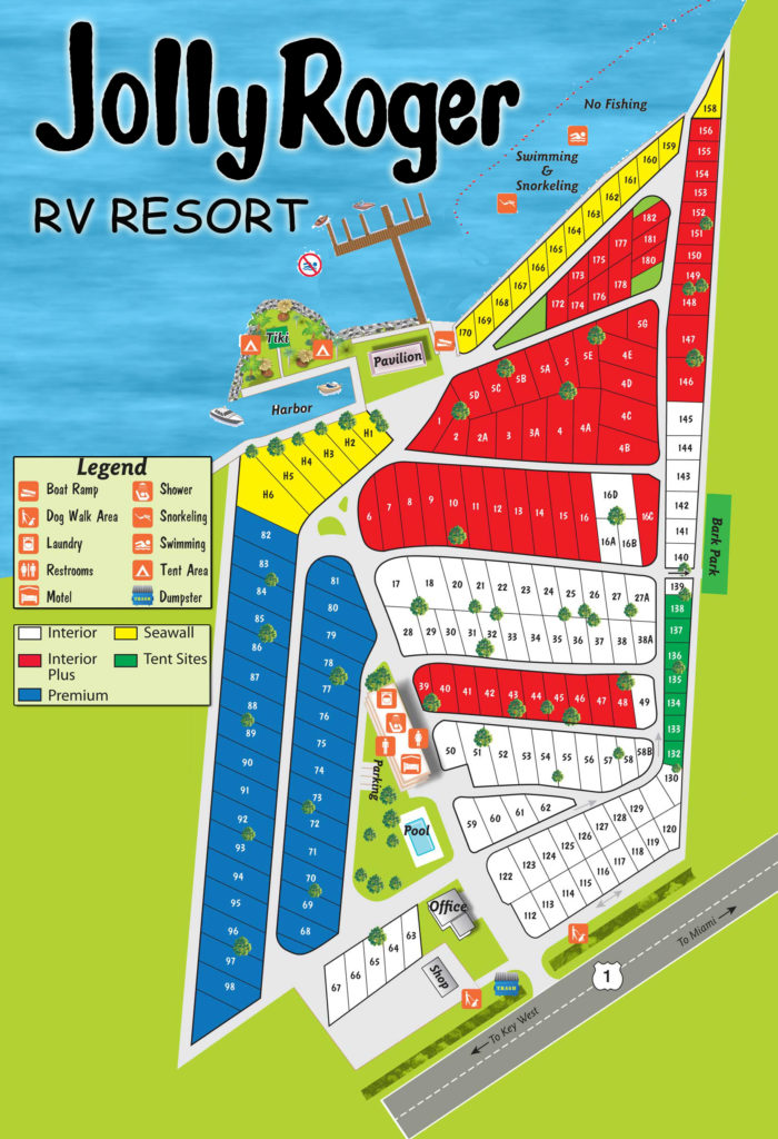 Rv Park Review Jolly Roger Rv Resort Grassy Key Fl