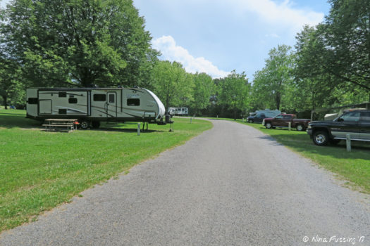 Sp campground review sampson state park romulus ny for Sampson state park ny cabins